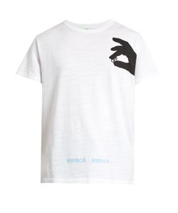 OFF-WHITE | Hand Off Cotton-Jersey T-Shirt