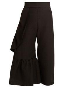 Rachel Comey   Revel Ruffle-Trimmed Cotton-Blend Trousers