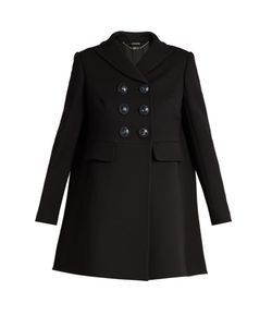 Alexander McQueen | Double-Breasted Wool And Silk-Blend Coat