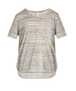 Todd Snyder + Champion | Round-Neck Marbled-Jersey T-Shirt