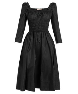 BROCK COLLECTION | Dorothy Square-Neck Taffeta Dress