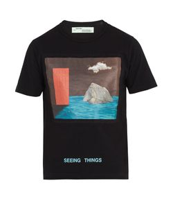 OFF-WHITE | Door-Print Cotton T-Shirt