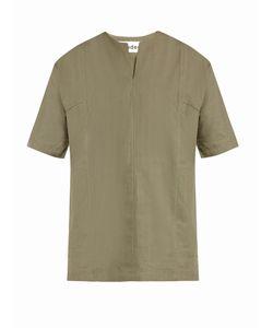 ÉTUDES | Pause Linen And Cotton-Blend Top