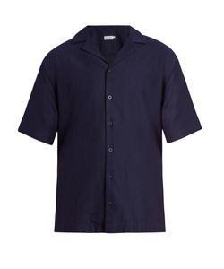 Sunspel | Short-Sleeved Cotton Shirt