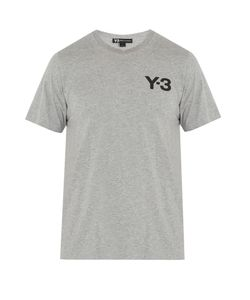 Y-3 | Logo-Print Cotton T-Shirt