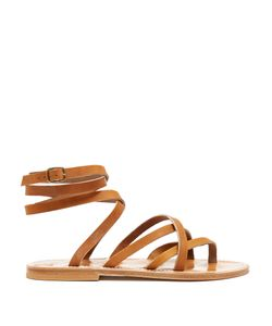 K. Jacques | Zenobie Wraparound Leather Sandals