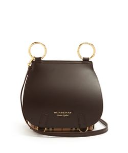 Burberry | The Bridle Leather Cross-Body Bag