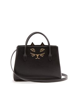 Charlotte Olympia | Feline Leather Cross-Body Bag