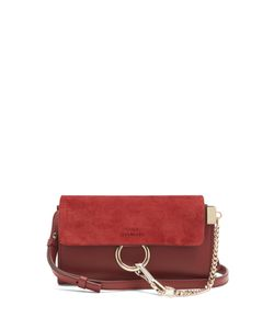 Chloe | Faye Mini And Suede Cross-Body Bag