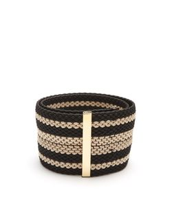 ROKSANDA | Striped Woven-Elastic Belt