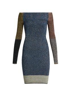 Christopher Kane | Contrast-Panel Knit Dress
