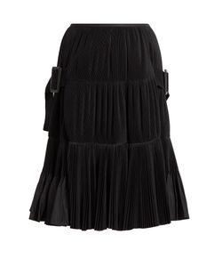 Toga | Accordion-Pleated Taffeta Skirt