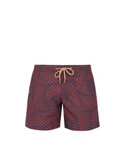 THORSUN | Titan-Fit Shell-Print Swim Shorts
