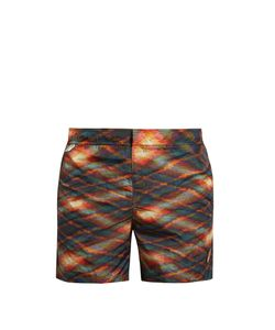 Missoni | Abstract-Print Swim Shorts
