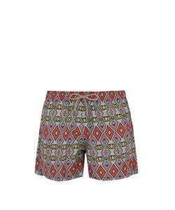 ÒKUN | Masai Tribal-Print Swim Shorts