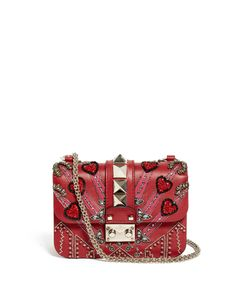 Valentino | Lock Love Blade Leather Cross-Body Bag