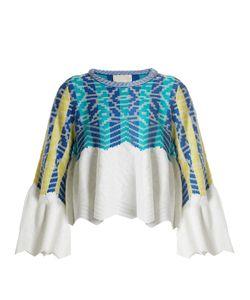 Peter Pilotto | Striped-Jacquard Cotton Sweater