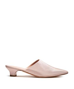 MANSUR GAVRIEL | Point-Toe Grosgrain Mules
