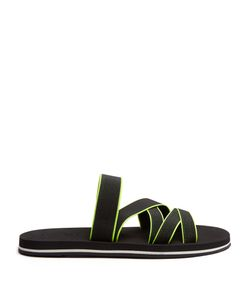 DANWARD | Bi-Colour Elasticated-Strap Slides
