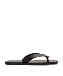 Lanvin | Leather Flip-Flops