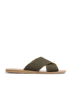 ANCIENT GREEK SANDALS | Thais Linen Sandals