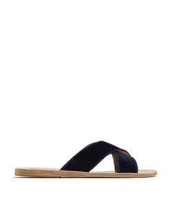 ANCIENT GREEK SANDALS | Thais Velvet Sandals