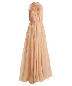 Maria Lucia Hohan | Elora Silk-Mousseline Halterneck Dress