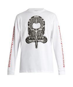 Marcelo Burlon | Ponce Long-Sleeved Cotton-Jersey T-Shirt