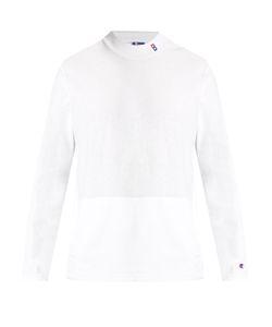 Champion x Beams | High-Neck Cotton-Blend Sweatshirt