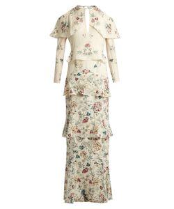 VILSHENKO | Annabelleprint Silk Gown