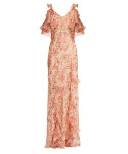 VILSHENKO | Ladonna Print Silk Dress