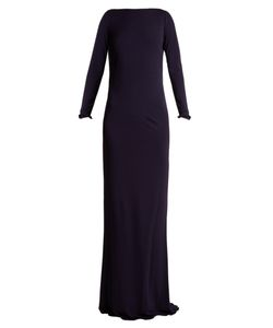 Azzaro | Ava Crystal-Embellished Jersey Gown
