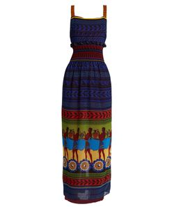 Mary Katrantzou | Hemera Grecian-Print Georgette Dress