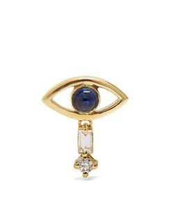 Ileana Makri | Diamond Sapphire Earring