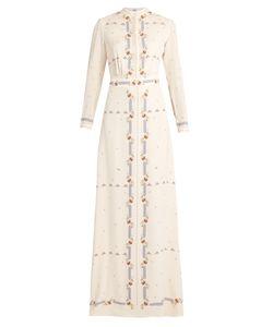 VILSHENKO | Florenceprint Silk Gown
