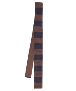 Dunhill | Striped Silk-Knit Tie