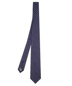 Dunhill | Polka-Dot Embroide Tie