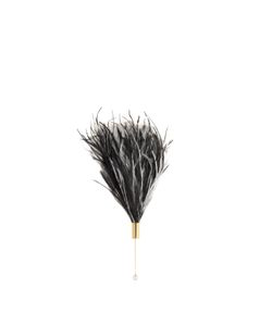 HILLIER BARTLEY | Feather And Plated Brooch