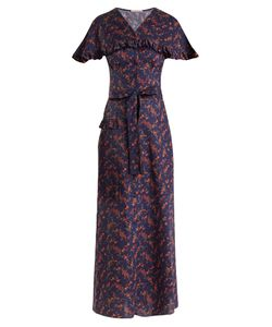 THE VAMPIRE'S WIFE | Charlotte Liberty Print Cotton Dress