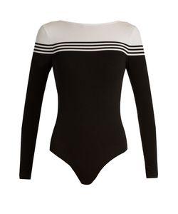 PEPPER & MAYNE | Compression Cotton-Blend Performance Bodysuit