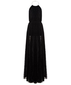 Maria Lucia Hohan | Cleo Star-Embroidered Halterneck Gown