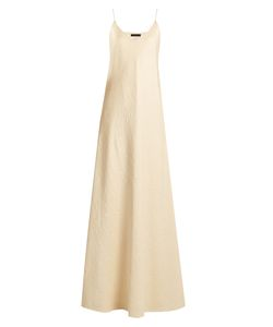 The Row   Vera Silk-Cloqué Gown
