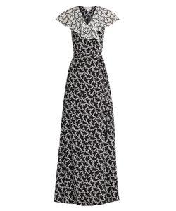 Diane Von Furstenberg | Ruffle-Trimmed Silk Wrap Dress