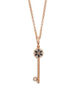 SELIM MOUZANNAR   Diamond Sapphire Beirut Necklace