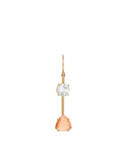 IRENE NEUWIRTH | Diamond Sunstone Roseearring