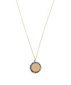 ALISON LOU | Sapphire Twister Necklace
