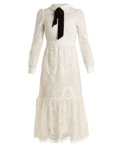 Temperley London | New Moon Guipure-Lace Dress