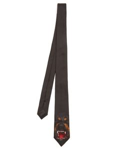 Givenchy | Rottweiler-Print Silk Tie