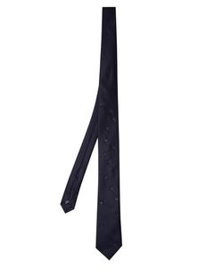 TITLE OF WORK | Bead-Embellished Wool Tie