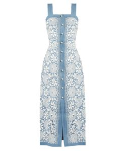 Huishan Zhang | Giselle Cotton-Blend Lace Dress